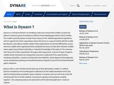 What is Dynare ? — Dynare   BibSonomy