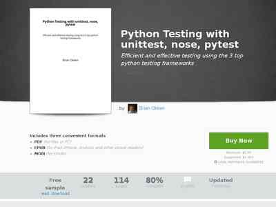 Python Testing with unittest… by Brian Okken [PDF/iPad/Kindle