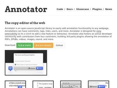 Home - Annotator - Annotating the Web | BibSonomy