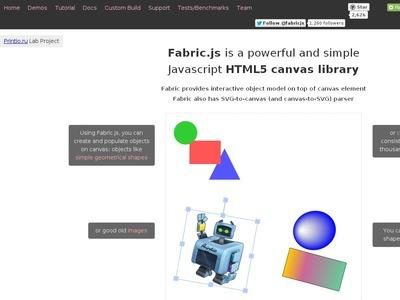 Fabric js Javascript Canvas Library | BibSonomy
