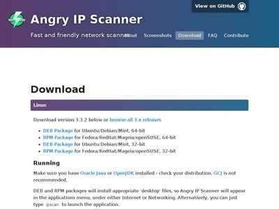 Download - Angry IP Scanner | BibSonomy