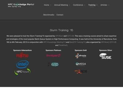 Slurm'15 Workshop | BibSonomy