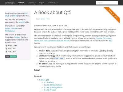 Getting Started With Qt 5 Pdf