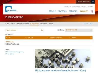 Publications   DLA Piper Global Law Firm   BibSonomy