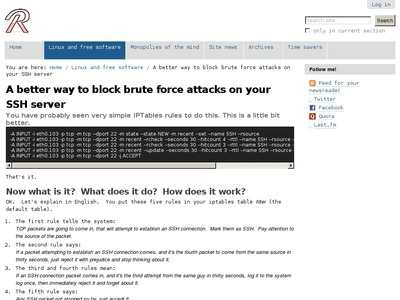 A better way to block brute force attacks on your SSH server