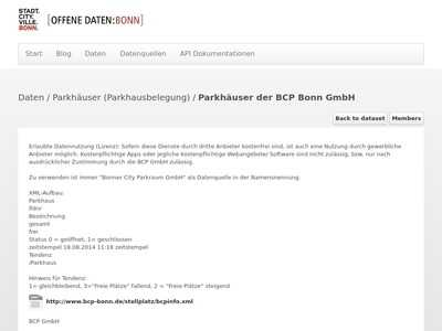 Parkhauser Der Bcp Bonn Gmbh Offene Daten Bonn Bibsonomy