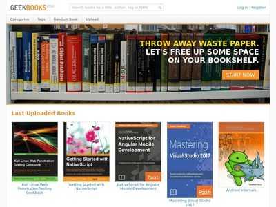 GeekBooks - Free Tech PDF eBook Library | BibSonomy