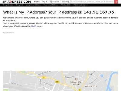 What is my IP address? Show my IP address  IP Tracer & IP