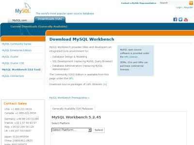 MySQL :: Download MySQL Workbench | BibSonomy