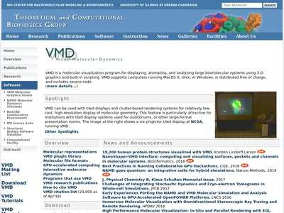 VMD - Visual Molecular Dynamics | BibSonomy