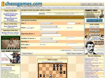 Chess Games Database | BibSonomy